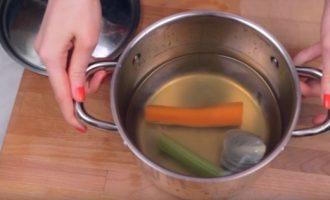 Отвар из овощей