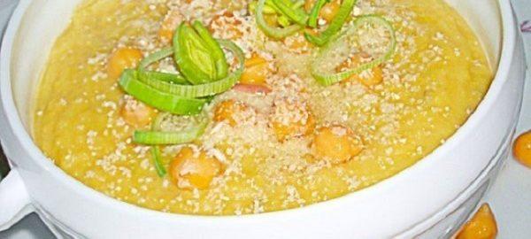 Суп-пюре с луком от Джейми Оливера