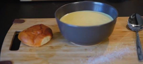 Суп сырный без добавления картофеля