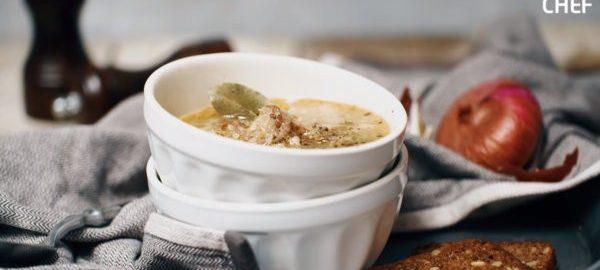 Суп с рыбой и гречкой
