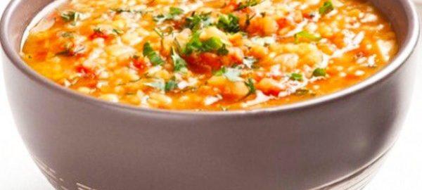 Чечевичный суп с рыбой