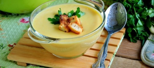 Манный крем-суп