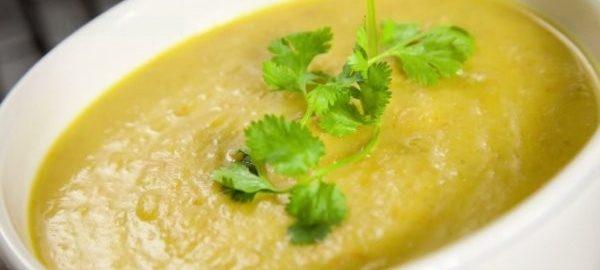 Суп с сыром и курицей