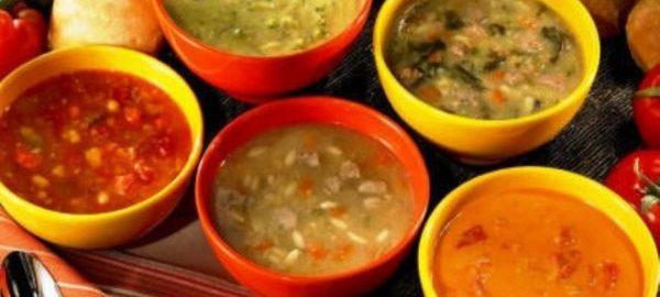 Супы заправочные разных видов