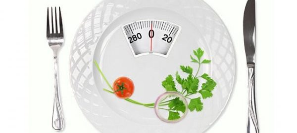 Весы в тарелке