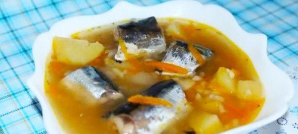 Фото рыбного супа, приготовленного в мультиварке