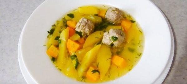 Суп с вермишелью и фрикадельками подробный рецепт