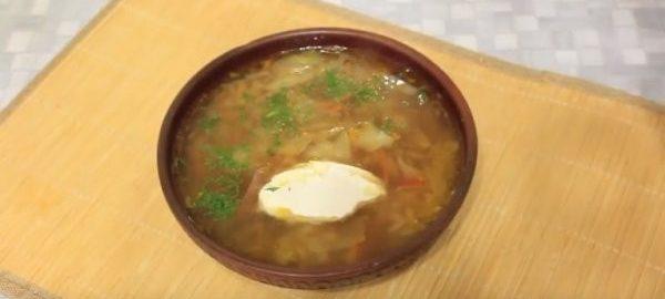 Суп из молодой косули