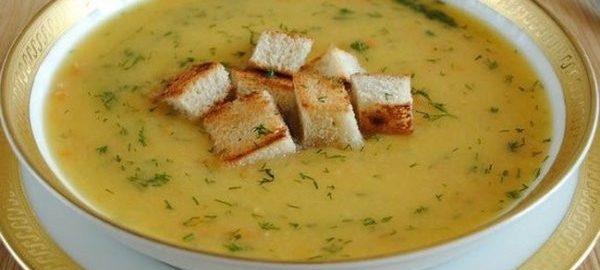 Суп-крем с редькой