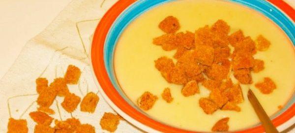 Суп-пюре из картошки