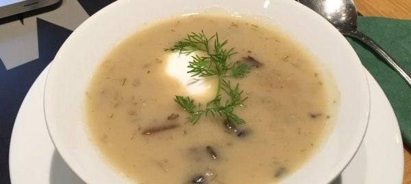 Грибной суп Кулайда