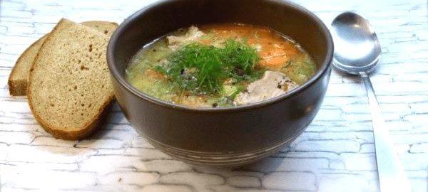 Готовим аппетитный суп с горохом и индейкой