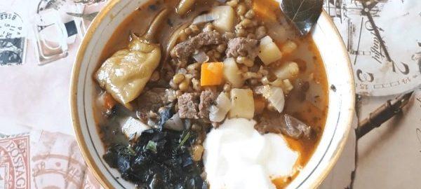 Узбекский суп машхурдал