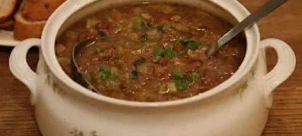 Суп из фасоли от Высоцкой