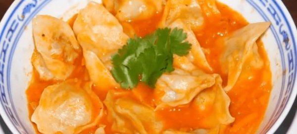 Узбекский суп с пельменями
