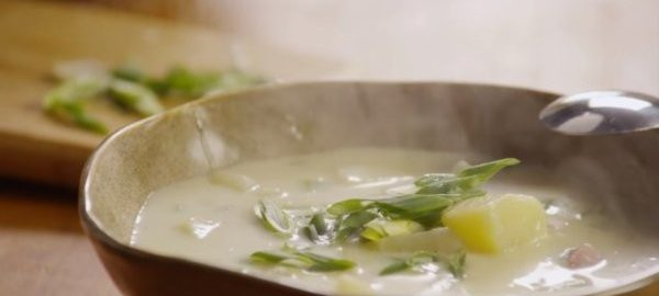 Суп с картофелем и ветчиной
