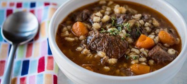 Суп с говядиной в скороварке