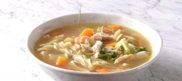 Суп с лапшой из курицы