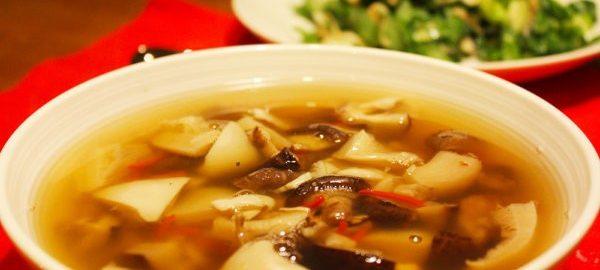 Суп из подосиновиков