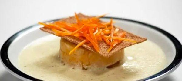Суп-крем из репы и картофеля