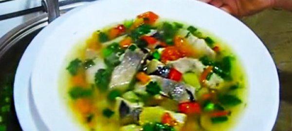 Суп из селедки
