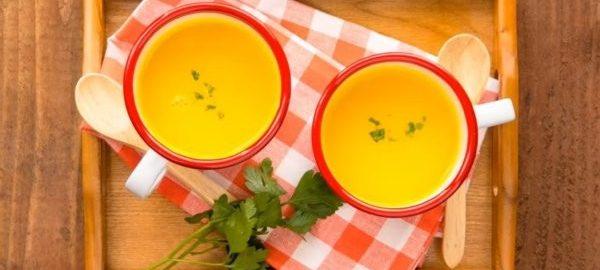 Суп с тыквой и молоком
