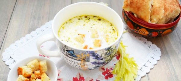 Крем-суп из индейки