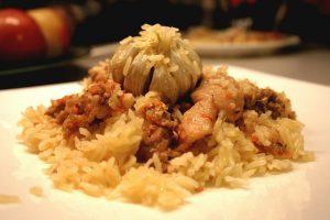 Традиционное узбекское блюдо