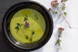 Крем-суп с орегано