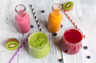 рецепты смузи из фруктов