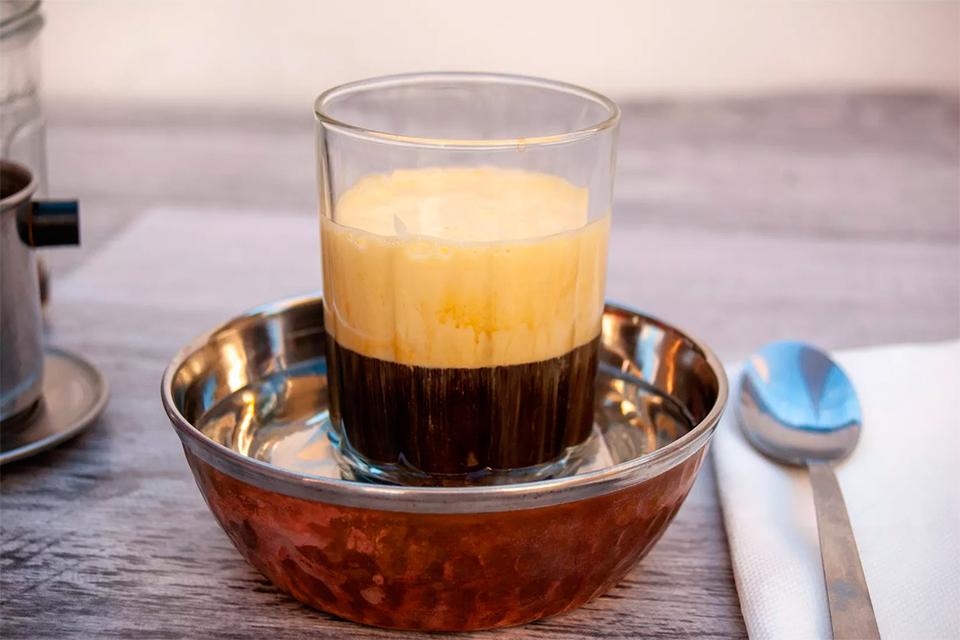 Яичный кофе