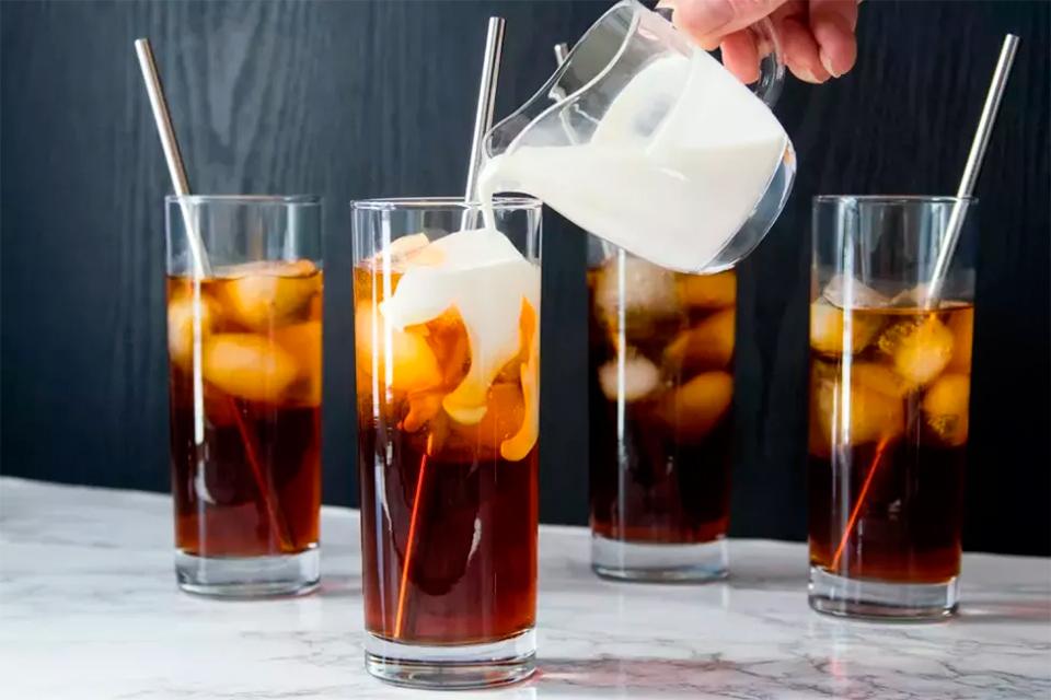 Рецепт холодного кофе
