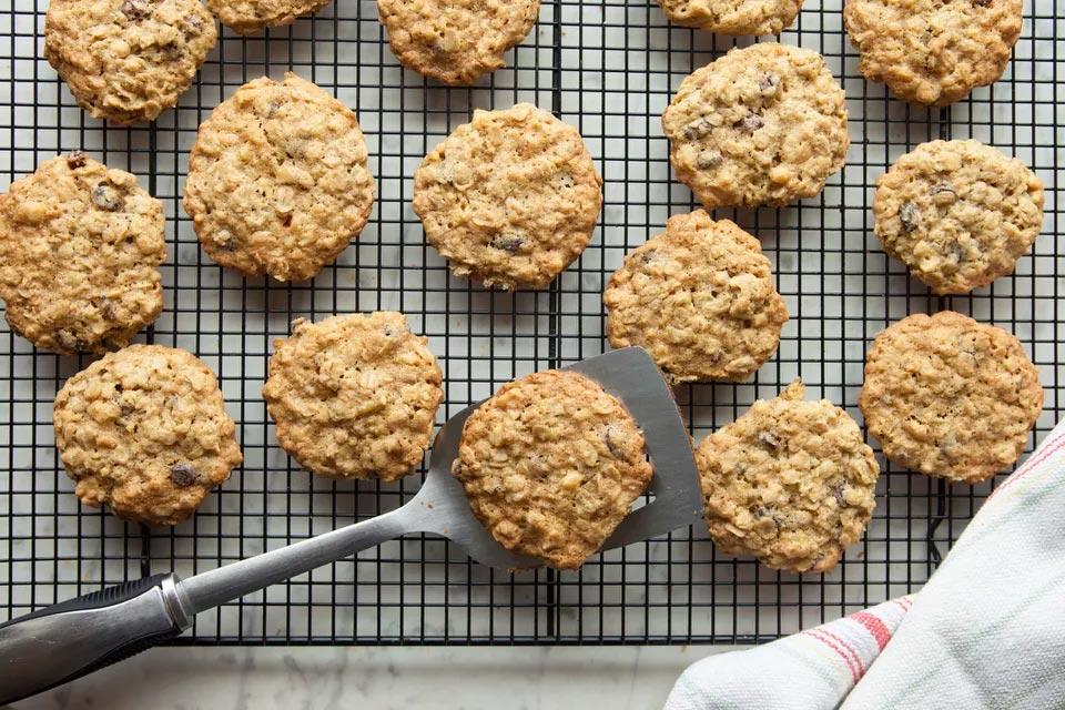 Овсяное печенье со сметаной