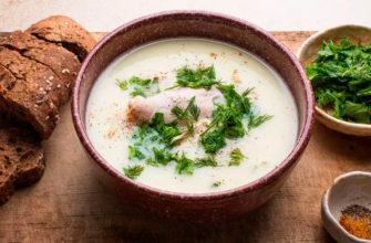 рецепта куриного супа