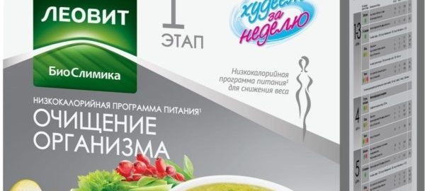 диетические супы Леовит