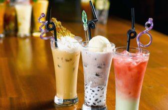 Вкусные коктейли из мороженного