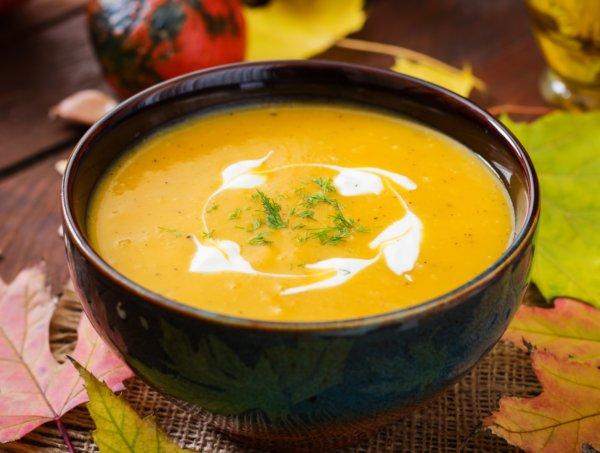 Тыквенный суп для похудения