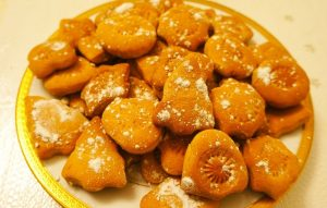 Песочное печенье с цедрой апельсина
