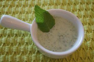 Соус из йогурта