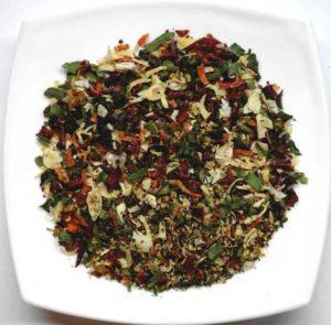 Приправа из сухих овощей